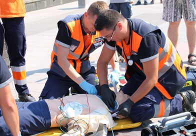 Demonstrație spectaculoasă la Deva, de Ziua Naţională a Ambulanţei