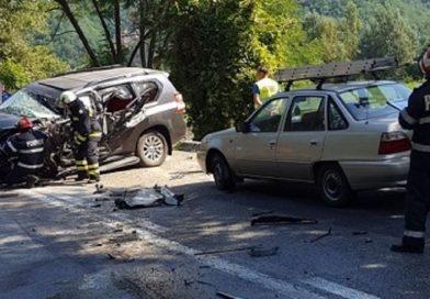 ACCIDENT: Trafic complet blocat pe Valea Oltului