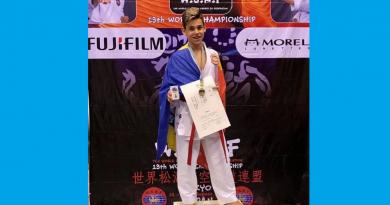 Deveanul Mihai Martinesc, campion mondial la Kumite – Tokyo 2017