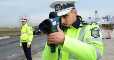 Atenție la VITEZĂ! Poliția rutieră ne informează
