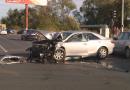 Accident rutier la Sântuhalm