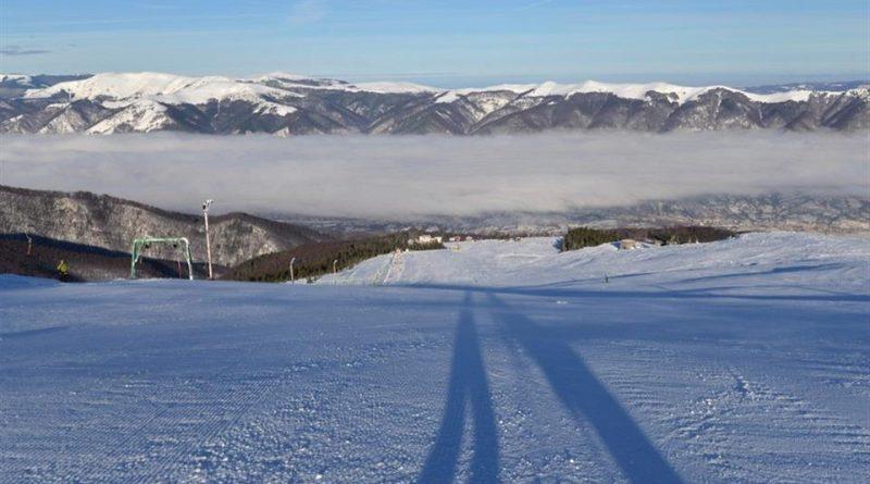 Prima zăpadă în Straja