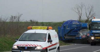 Trafic îngreunat pe ruta Curcani (judeţul Călăraşi) – Nădlac 2 Punctul de Trecere a Frontierei (judeţul Arad)