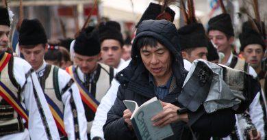 Norio Inagaki, un japonez printre căluşeri
