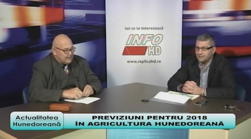 Previziuni pentru 2018 în agricultura hunedoreană