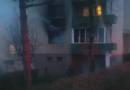 Incendiu într-un apartament din Deva