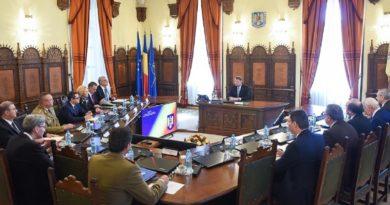 Consiliul Suprem de Apărare a Ţării se reuneşte în 20 martie