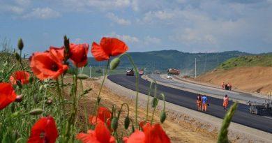 Lotul 4 al Autostrăzii Lugoj-Deva, în imagini recente (GALERIE FOTO)