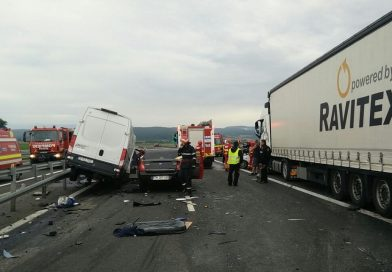BREAKING NEWS! Accident rutier grav pe autostrada A1 Deva-Simeria