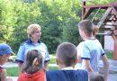 Poliţiştii hunedoreni, alături de cei mici, şi pe timpul vacanţei de vară