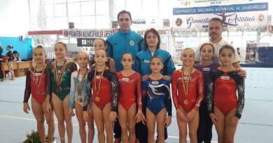 9 titluri naționale pentru gimnastele de la Deva