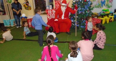 Cum a venit Moș Crăciun la Hunedoara
