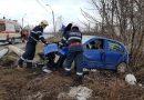 Accident rutier pe DJ 687, în localitatea Cristur