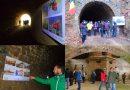 Expoziție unică în lume, deschisă în tunelul mocăniței de la Govăjdia (GALERIE FOTO)