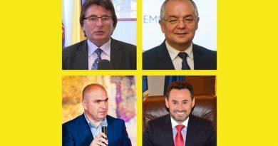 Primarii Robu, Bolojan, Boc şi Falcă semnează, la Timişoara, Alianţa Vestului