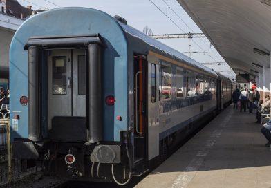 Trafic feroviar perturbat în urma vijeliilor de miercuri seară