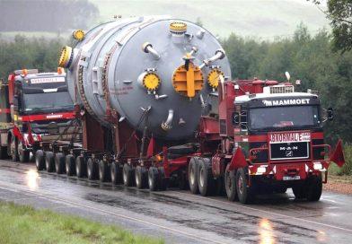 Transport agabaritic pe ruta Nădlac 2 PTF  – Brăila