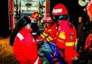 Exercițiu al pompierilor deveni în situația producerii unui cutremur
