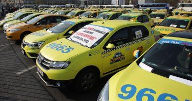 Un nou protest al transportatorilor, în Piaţa Constituţiei