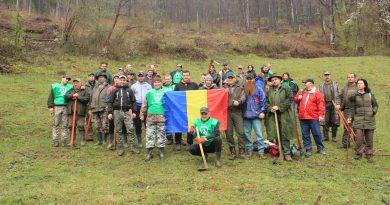 Mobilizare pentru pădure în Munţii Orăştiei