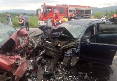 Două persoane au decedat în urma unui accident rutier produs pe DN66