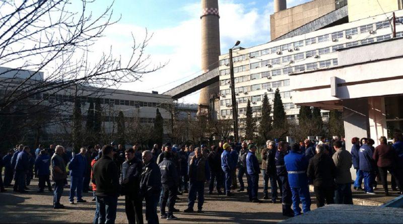Manifestare pentru salvarea termocentralei Mintia
