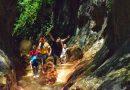 Pe urmele copiilor curajoși, în aventura de la canionul Cheile Glodului (GALERIE FOTO)