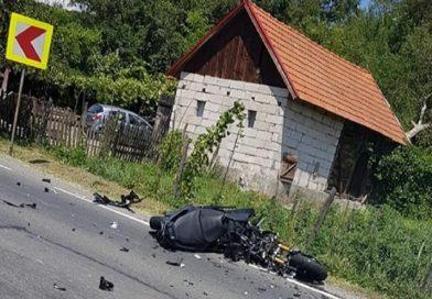 Accident mortal pe DN7. Un motociclist a intrat în coliziune cu un autocamion
