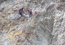 Salt mortal cu parapanta, în Masivul Bucegi