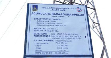 Hunedoara, al doilea mare producător național de energie hidro