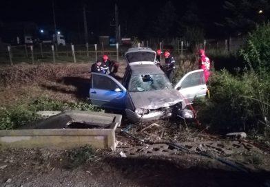 Accident mortal pe DN7. Un bărbat a murit pe loc, iar alte trei persoane au fost rănite