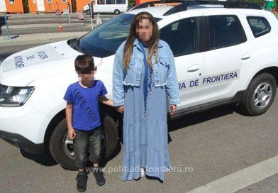 O femeie din Siria şi fiul său de şapte ani, au  încercat să intre în ţară ilegal
