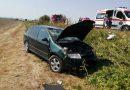 Accident rutier pe DN7: Trei victime au fost transportate la spital