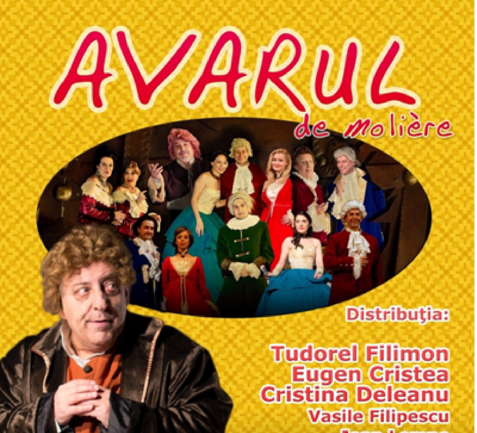 """""""Avarul"""" lui Molière – pe scena Centrului Cultural """"Drăgan Muntean"""" Deva"""