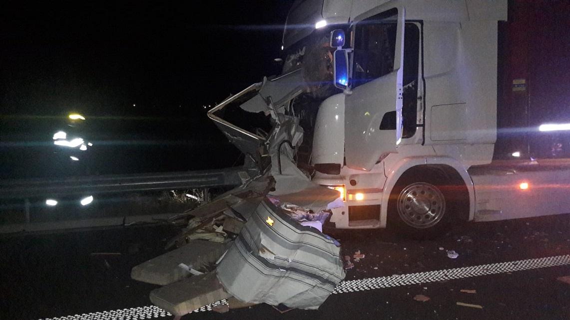 ACCIDENT TERIBIL PE AUTOSTRADA A1, ÎNTRE DEVA ȘI ILIA