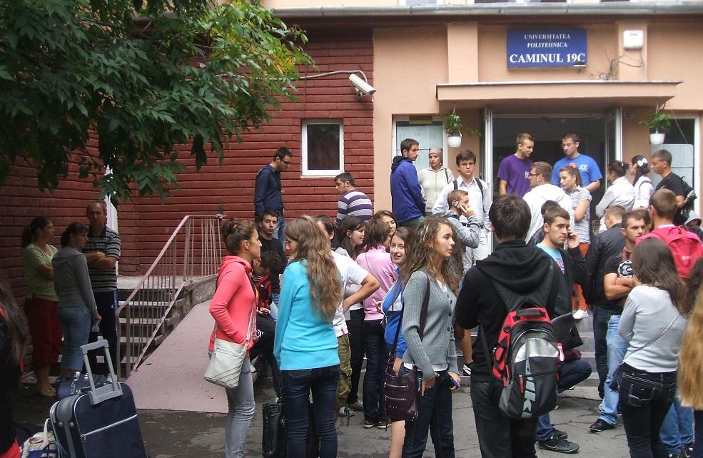 UPT asigură cazare în cămin pentru toți studenții proprii