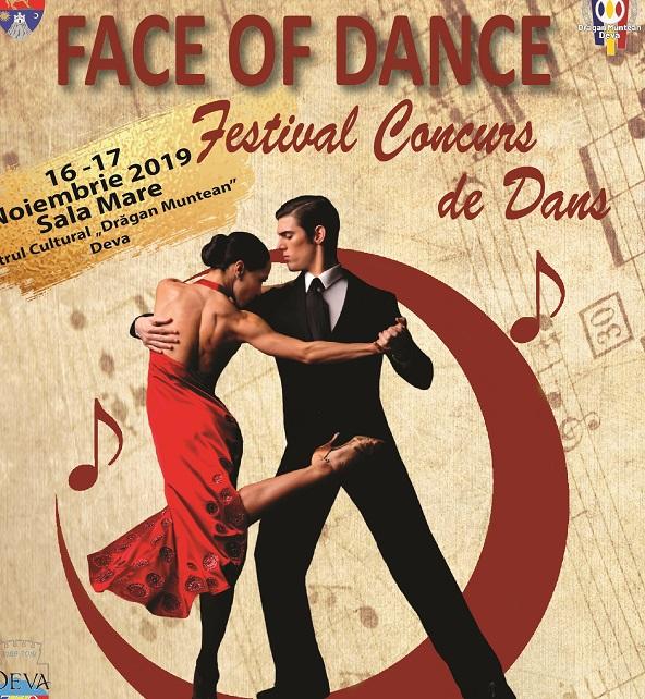 """Încep înscrierile pentru Festivalul de Dans ,,Face of Dance"""" – Deva, 2019!"""