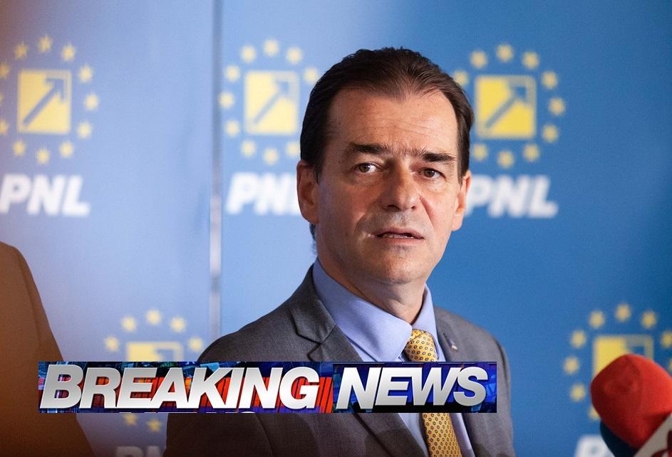 Preşedintele Klaus Iohannis a anunţat nominalizarea liderului PNL Ludovic Orban pentru postul de premier