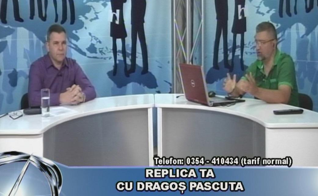 REPLICA TA CU DRAGOȘ PASCUTA – 16 octombrie 2019