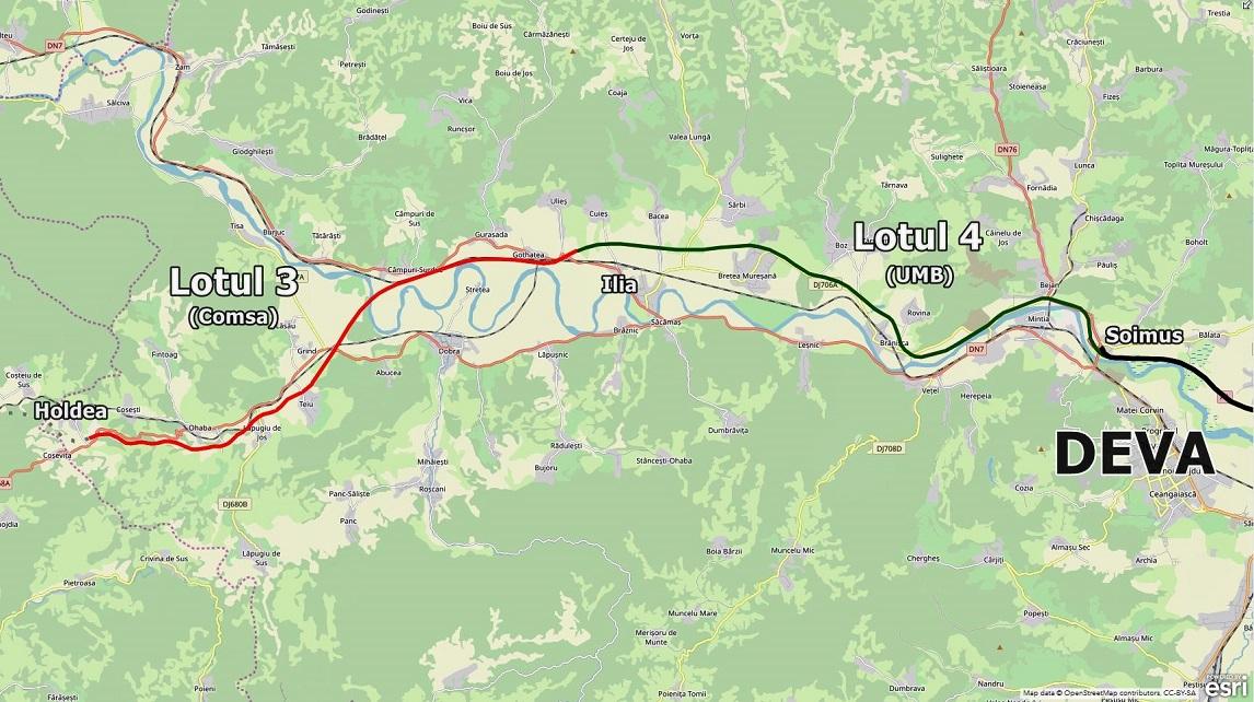 Lotul 3 al autostrăzii Lugoj – Deva va fi deschis. Cu restricții