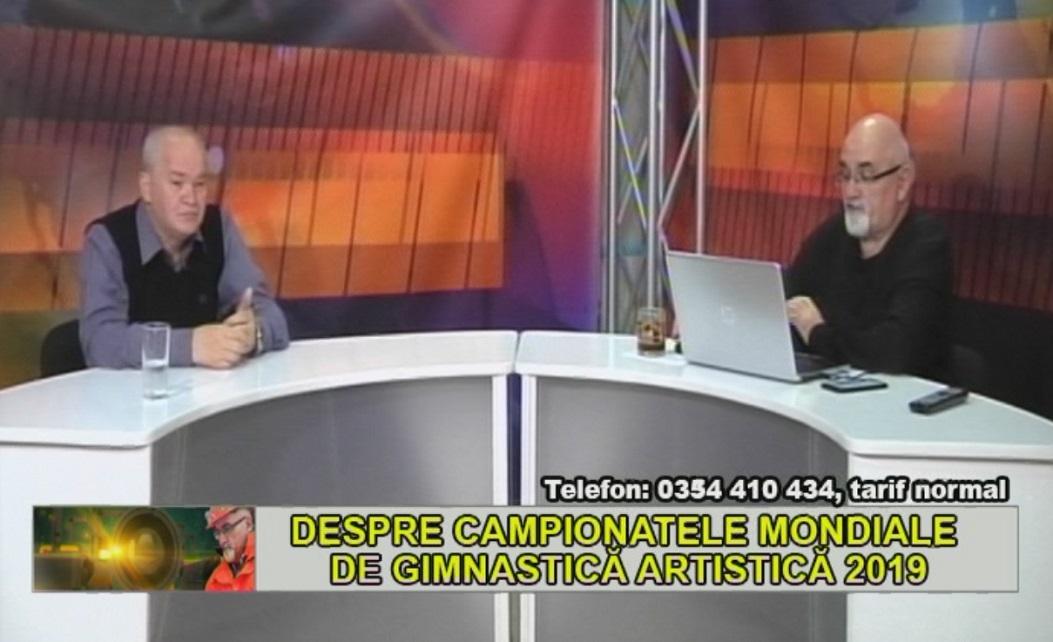 DESPRE CAMPIONATELE MONDIALE DE GIMNASTICĂ ARTISTICĂ 2019
