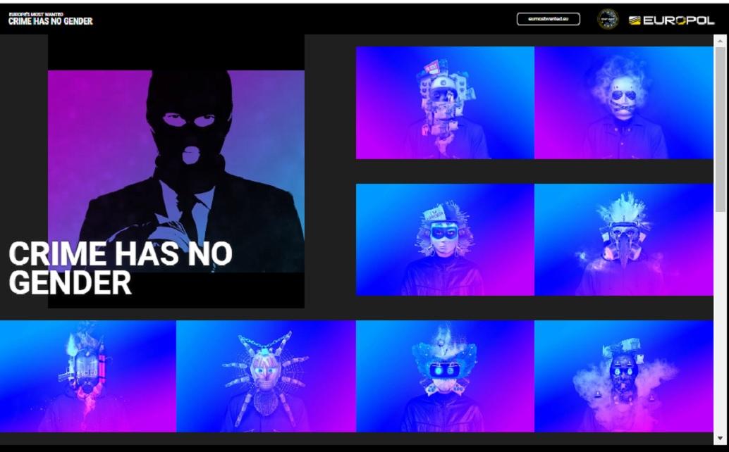 Site Europol cu chipurile unora dintre cele mai urmărite persoane pentru comiterea de infracţiuni grave