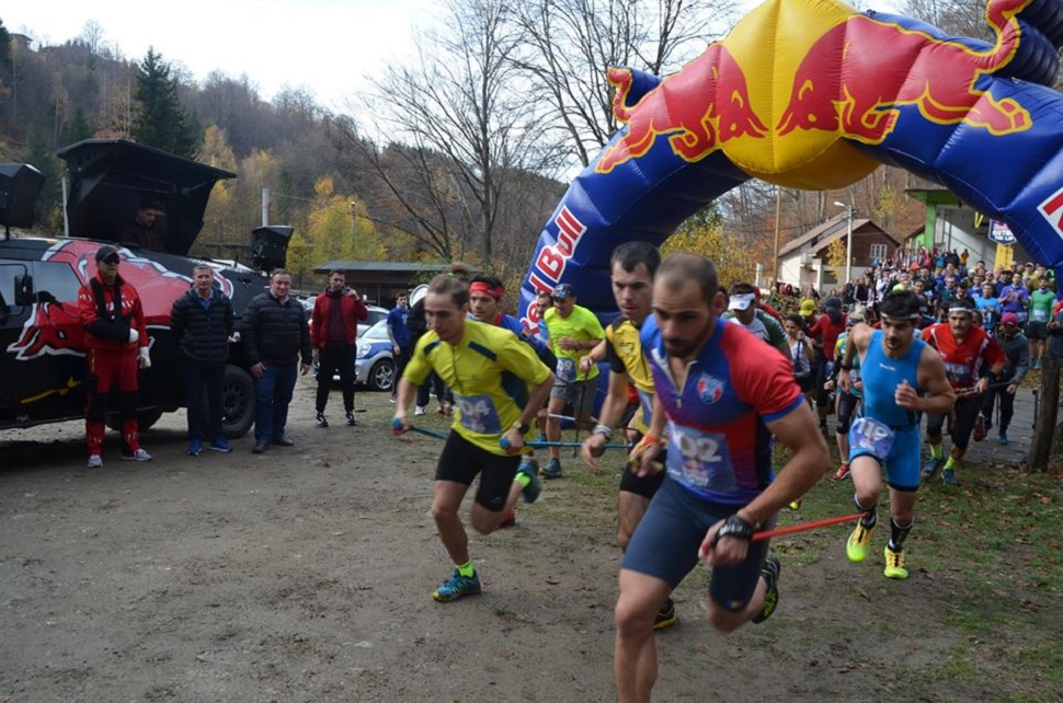 Trei alergători au învins telescaunul