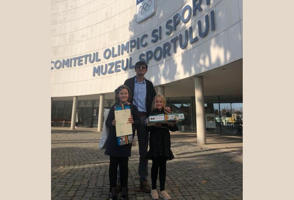 """""""Jocurile Olimpice în imaginația copiilor"""" aduce două premii la Deva"""