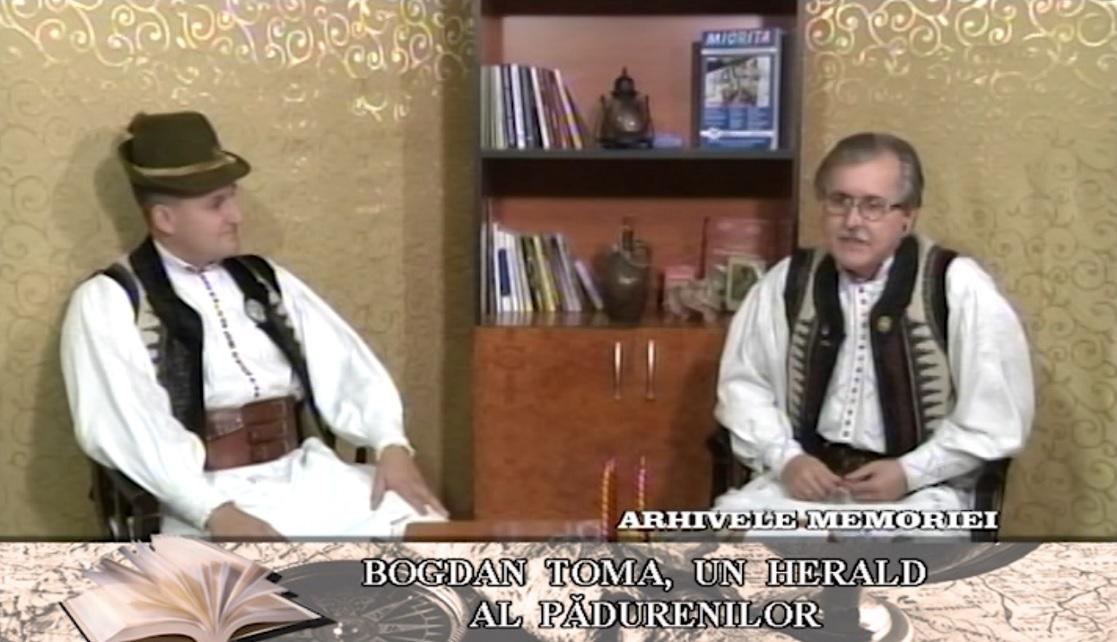 BOGDAN TOMA, UN HERALD AL PĂDURENILOR