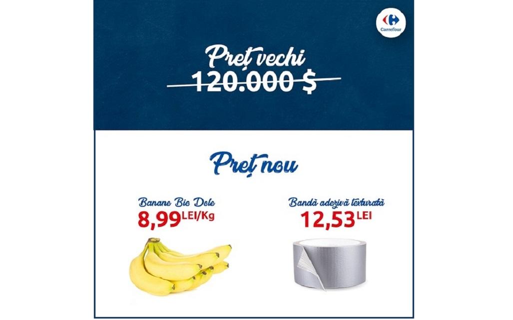 """""""Un pic de artă în fiecare casă"""", o campanie haioasă de marketing Carrefour"""