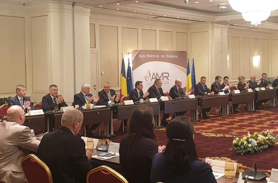 Primarii din Deva și Petroșani s-au întâlnit cu președintele Klaus Iohannis