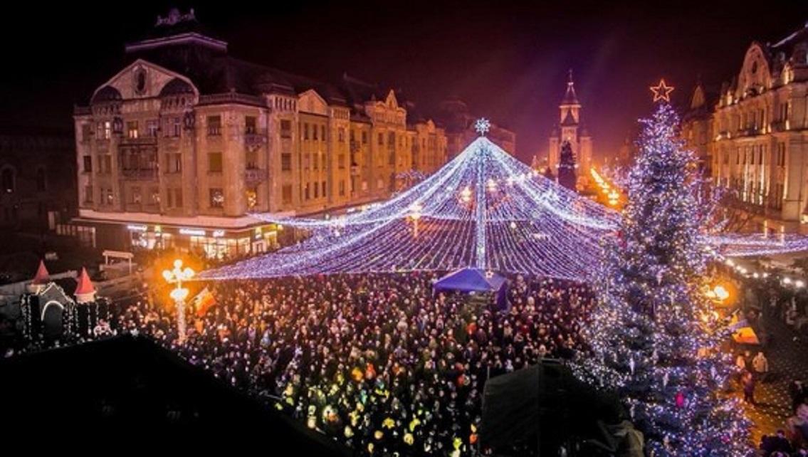 S-a deschis Târgul de Crăciun de la Timişoara