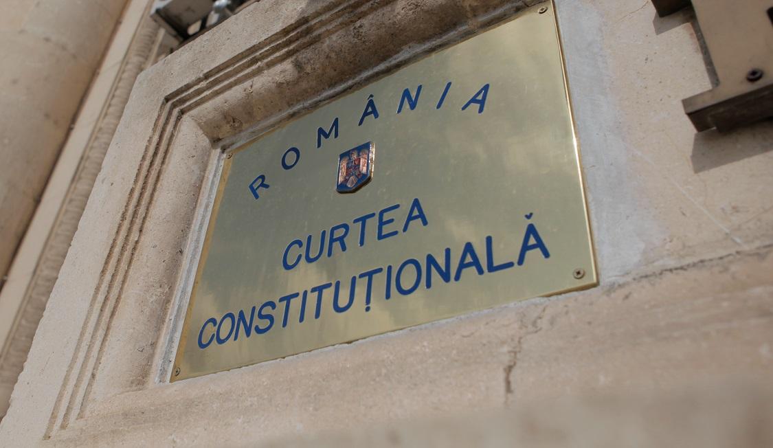 CURTEA CONSTITUŢIONALĂ – Comunicat de presă