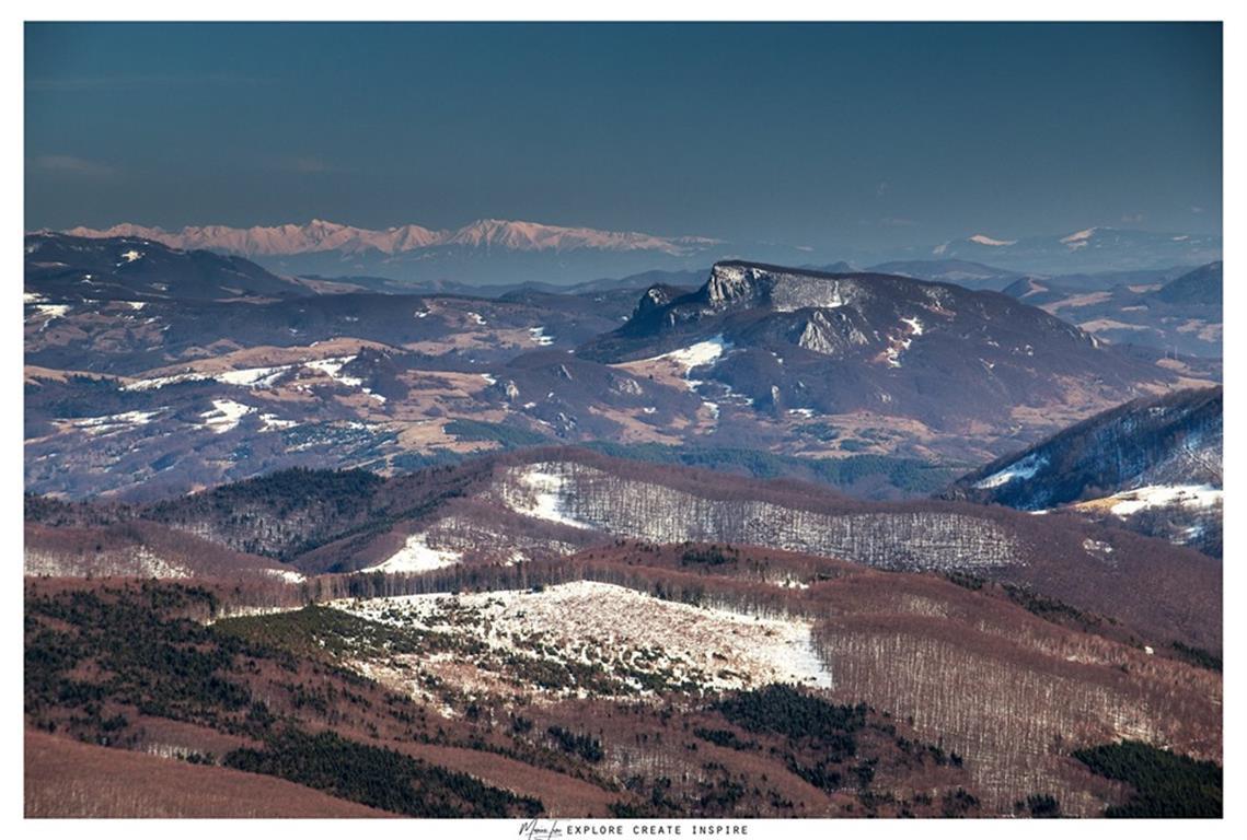 Iarna prin ţara bulzurilor de piatră. (GALERIE FOTO)